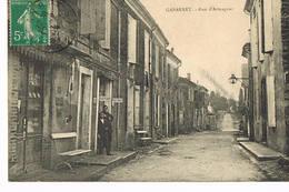 Gabarret Rue D'Armagnac, Coiffeur Cachet Convoyeur Gabarret à Nérac - Autres Communes
