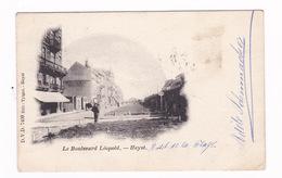 Belle CPA Heist (Belgique), Boulevard Léopold. A Voyagé En 1901 - Heist