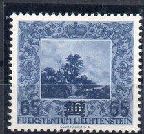 LIECHTENSTEIN  Timbre Neuf **  De 1954  ( Ref 2671B )  Surchargé - Liechtenstein