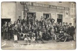 CPA Photo Herny Fanfare Metz Devant Les Ponts ? 1934 - Metz