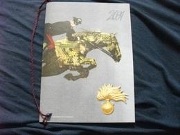 2001 Calendario Carabinieri Completo Cordino - Calendari