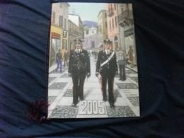 2005 Calendario Carabinieri Completo Cordino - Calendari