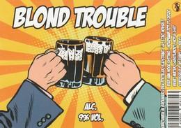 Blond Trouble Brouwerij Den Toetler - Bière