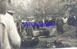 104325 RUSSIA BIELO RUSSIA BELARUS BEREZA KARTUSKA PRISON BURIAL POSTAL POSTCARD - Russland