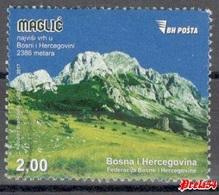 Bosnia Sarajevo - Mountain Maglic 2017 Used - Bosnia And Herzegovina