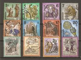 Autriche 1993/9 - ABBAYES Et MONASTERES, CONTES Et LEGENDES - Petit Lot De 12 Timbres° - Timbres