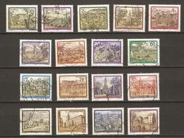 Autriche 1984/92 -  ABBAYES Et MONASTERES - Petit Lot  De 17 Timbres° - Timbres