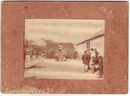 72 Sarthe - Concours De Boules Devant Le Café Brûlon - 1898 - Foto's