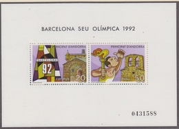 Andorra Sp. 1992 Olympic Games Barcelona M/s ** Mnh (41409) - Spaans-Andorra
