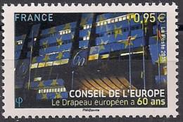 2015 Frankreich  Mi. 74 **MNH 60 Jahre Europarat. - Europese Gedachte