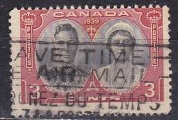 Canada, 1939 - 3 Cent King George VI And Queen Elizabeth - Nr.248 Usato° - Usati
