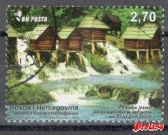 Bosnia Sarajevo - The Pliva Lakes With The Mill 2016 Used - Bosnia And Herzegovina