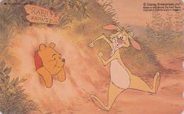 Télécarte NEUVE Japon / 110-211339 - DISNEY - WINNIE POOH COLLECTION & Lapin Rabbit - Japan MINT Phonecard - Disney
