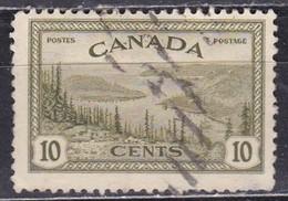 Canada, 1946 - 10c Great Bear Lake, Mackenzie - Nr.269 Usato° - Usati