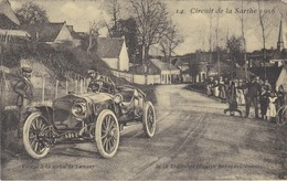 Circuit De La Sarthe  1906 Virage De Lamnay  De La Touloubre - Grand Prix / F1