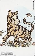 Télécarte NEUVE Japon / 110-211344 - DISNEY - WINNIE POOH COLLECTION - Tigrou Tigre Tiger - Japan MINT Phonecard - Disney