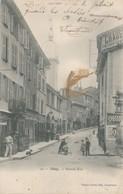 CPA - France - (69) Rhône - Thizy - Grande Rue - Thizy