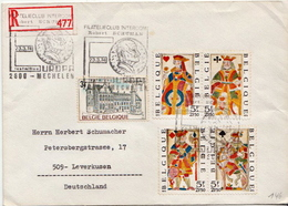 Postal History: Belgium R Cover - Belgium