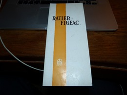 Folder Présentation Historique  Usines Ratier-Figeac Aviation Avec Photos  Suresnes Villacoublay - Sciences