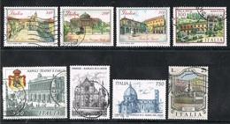 ITALIA / ITALY - MONUMENTI / MONUMENTS - LOTTO DI FRANCOBOLLI / LOT OF STAMPS - USATO / USED - Monumenti