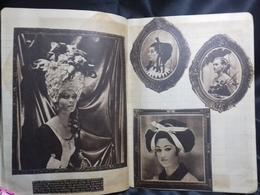 Antiguo Cuaderno De Los Años 70 Con Recortes De Revista. Lugares Y Personajes - Documentos Antiguos