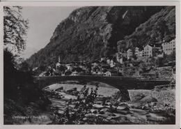 Castasegna (Bergell) Dorfansicht - GR Grisons