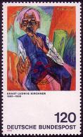823 Expressionismus 120 Pf Kirchner O - [7] République Fédérale