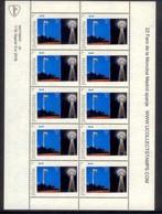 Nederland   2018  Vuurtoren 22 FARO DE MONCLOA Spanje   Lighthouse, Pharos, Leuchturm VEL-SHEETLET  Postfris/mnh/neuf - Period 1980-... (Beatrix)
