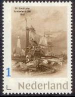Nederland   2018  Vuurtoren 23  Pier Sunderland Gr Britain 1842 Ship    Lighthouse, Pharos, Leuchturm  Postfris/mnh/neuf - Period 1980-... (Beatrix)