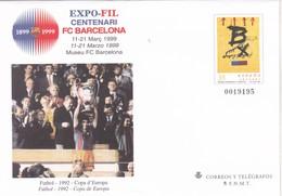 España Sobre Entero Postal Nº 52 - Stamped Stationery