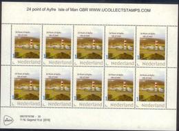 Nederland 2018 Vuurtoren 24 Point Ayfre Isle Of Man   Lighthouse,leuchturm VEL SHEETLET  Postfris/mnh/neuf - Period 1980-... (Beatrix)