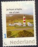 Nederland 2018 Vuurtoren 24 Point Ayfre Isle Of Man   Lighthouse,leuchturm   Postfris/mnh/neuf - Period 1980-... (Beatrix)