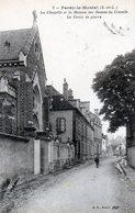 71 - Paray Le Monial  La Chapelle Et La Maison Des Dames Du Cénacle La Croix De Pierre - Paray Le Monial