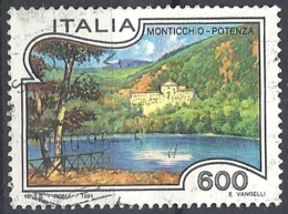 Italia, 1994 Monticchio, 600L # Sassone 2101 - Michel 2321 - Scott 1975  USATO - 1946-.. République