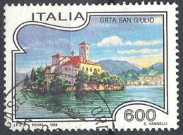 Italia, 1994 Orta San Giulio, 600L # Sassone 2102 - Michel 2322 - Scott 1972  USATO - 1946-.. République