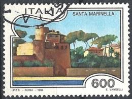 Italia, 1994 Santa Marinella, 600L # Sassone 2103 - Michel 2320 - Scott 1973  USATO - 1946-.. République