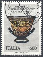 Italia, 1994 Cratere Attico, 600L # Sassone 2118 - Michel 2338 - Scott 1992  USATO - 1946-.. République