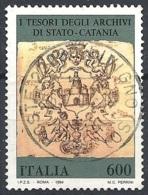 Italia, 1994 Incipit Di Un Registro, 800L # Sassone 2120 - Michel 2340 - Scott 1994  USATO - 1946-.. République