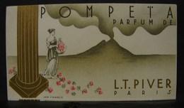 CParf. 8. Pompeta Parfum De L.T. Piver - Cartes Parfumées