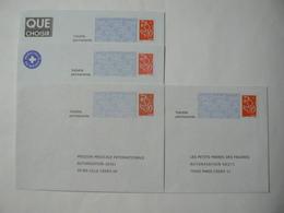Prêt à Poster Réponse, Lamouche ITVF, 4 Enveloppes Neuves, TB. - Entiers Postaux