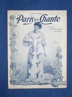 CAF CONC REVUE PARIS QUI CHANTE 04/1903 ANNA JUDIC YANN NIBOR CAMILLE STEFANI FÉLIX GALIPAUX DIANETTE HONORÉ SPENCER - Musique & Instruments