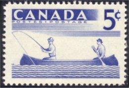 Canada Fishing Peche A La Ligne Canoe MNH ** Neuf SC (C03-65c) - Kano