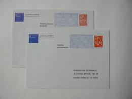 Prêt à Poster Réponse, Lamouche ITVF, 2 Enveloppes Neuves, TB. - Entiers Postaux