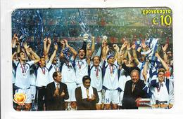 GREECE - Euro 2004/Greek National Football Team, Amimex Prepaid Card 10 Euro, Mint - Grecia