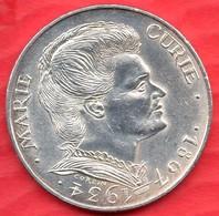 Argent - 100 Francs - MARIE CURIE - 1984 (01) - N. 100 Francs