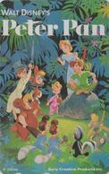 RARE Télécarte NEUVE Japon / 110-016 - DISNEY - PETER PAN ** SONY ** - Cinema Movie Film Japan MINT Phonecard - Disney