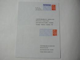 PRET à Poster Réponse & POSTREPONSE, Lamouche Phil@poste, 20g, 2 Enveloppes Neuves, TB. - Entiers Postaux