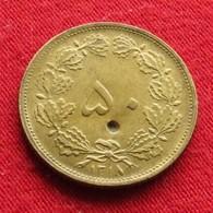 Iran 50 Dinars 1939 / SH 1318 KM# 1142 Lt 328  Irão Persia Persien - Iran