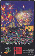 Télécarte Japon  / 110-011 - DISNEY - POCAHONTAS In Central Park New York USA - Cinema Movie Film BD Japan Phonecard - Disney