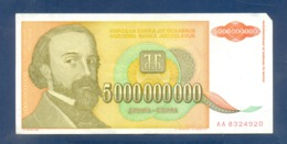 500,000,000 Dinara Yugoslavia 1993 - Jugoslavia